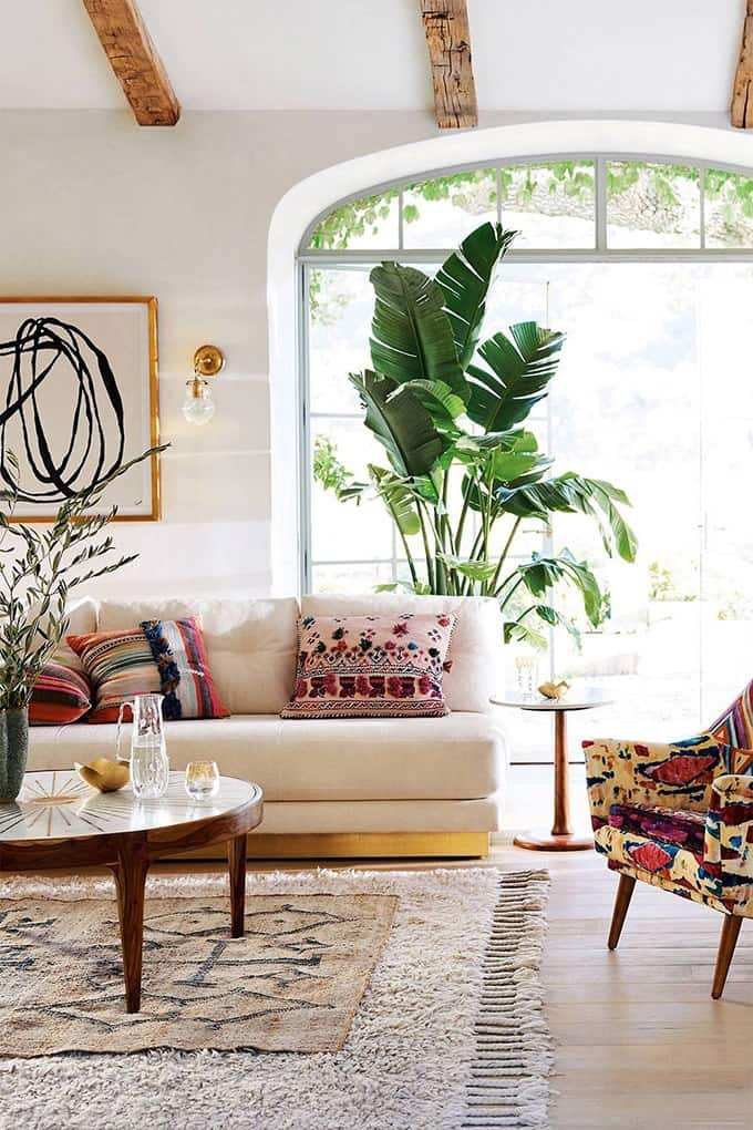 Creative Modern Bohemian Living Room Ideas