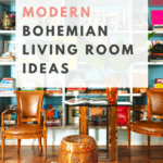 bohemian living room decor