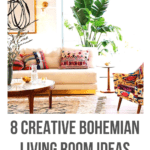 bohemian living room ideas