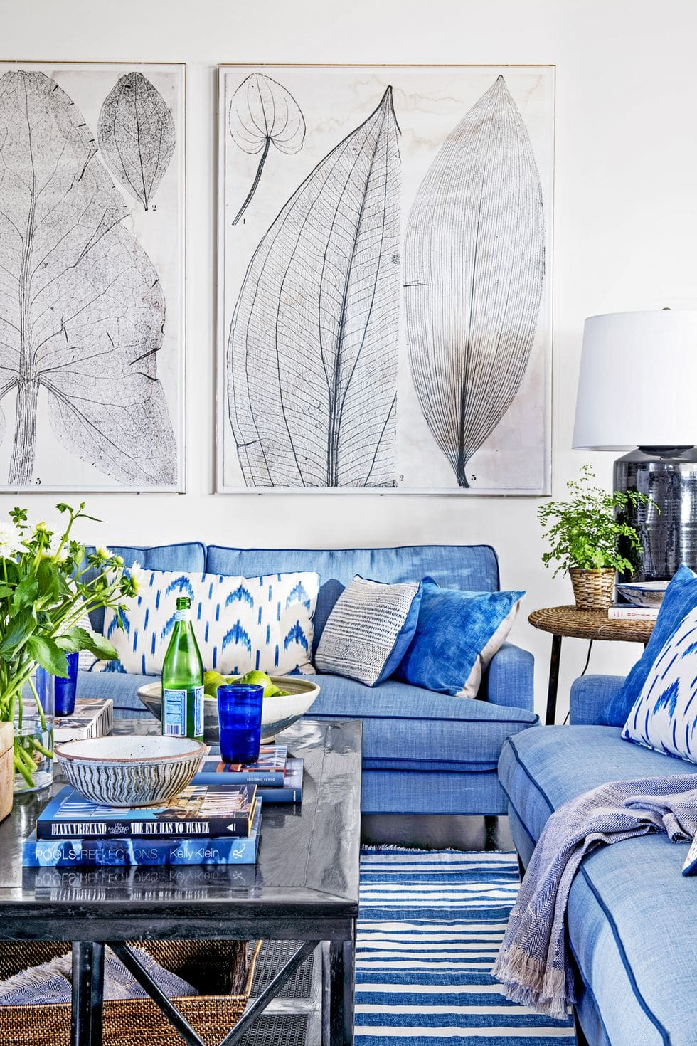 7 Blue Decorating Ideas For Every Room Of Your Home