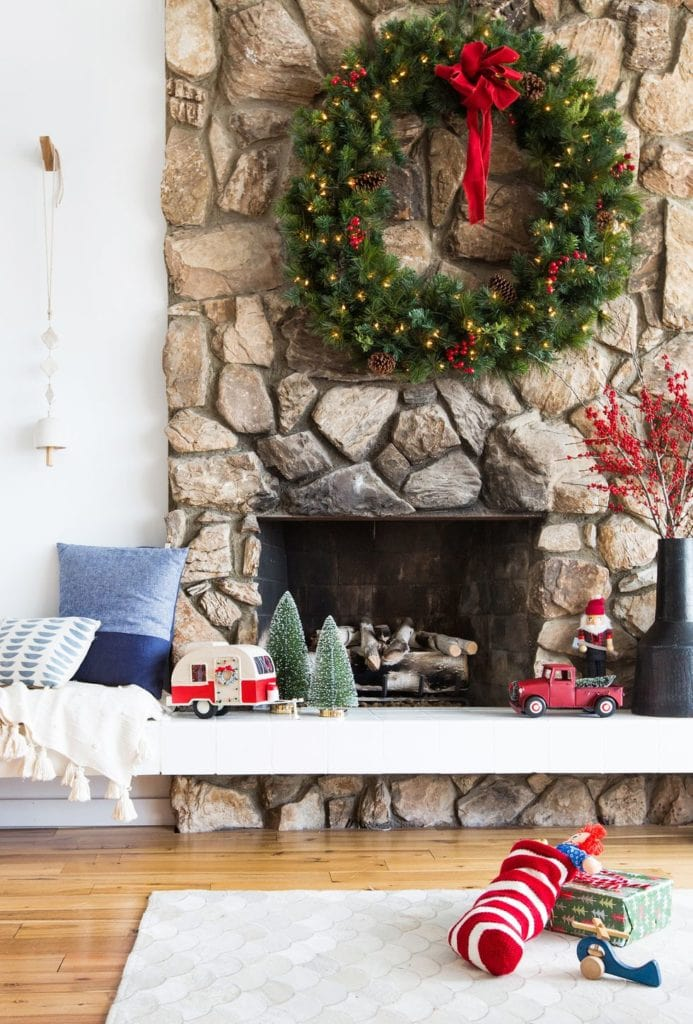 Christmas-Living-Room-Décor-Ideas