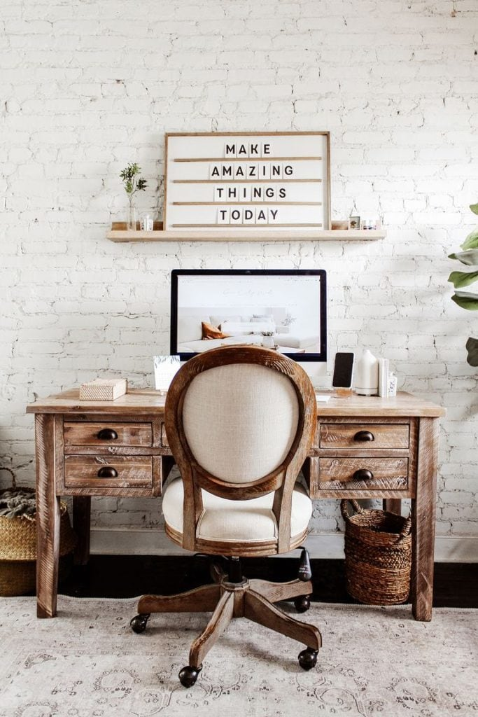 Home-Office-Wall-Décor-Ideas