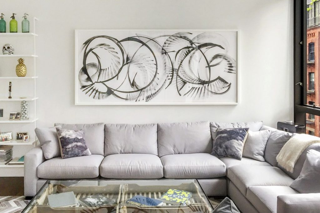 Ideas-To-Decorate-Above-The-Sofa